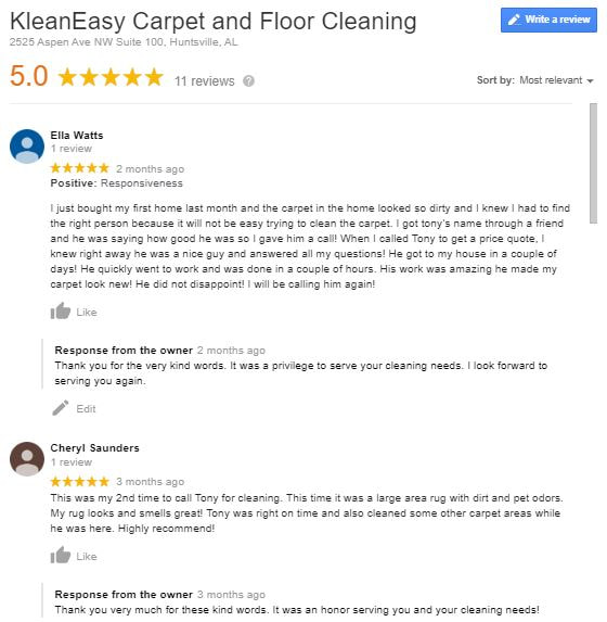 Christian Carpet Cleaner Huntsville AL