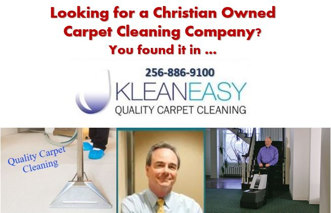 Christian Carpet Cleaning Company Huntsville AL