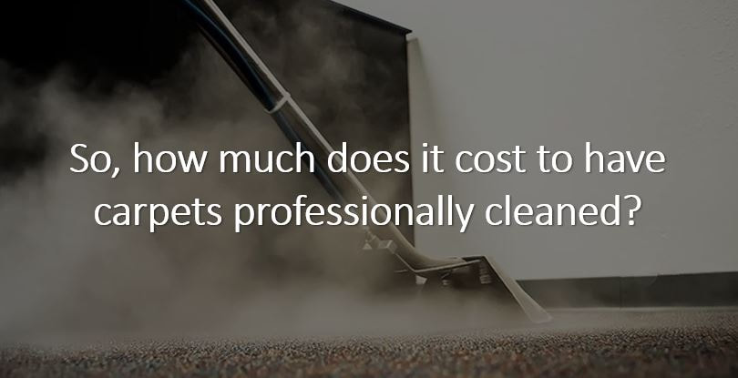 How much does it cost to get a carpet cleaned in Huntsville AL